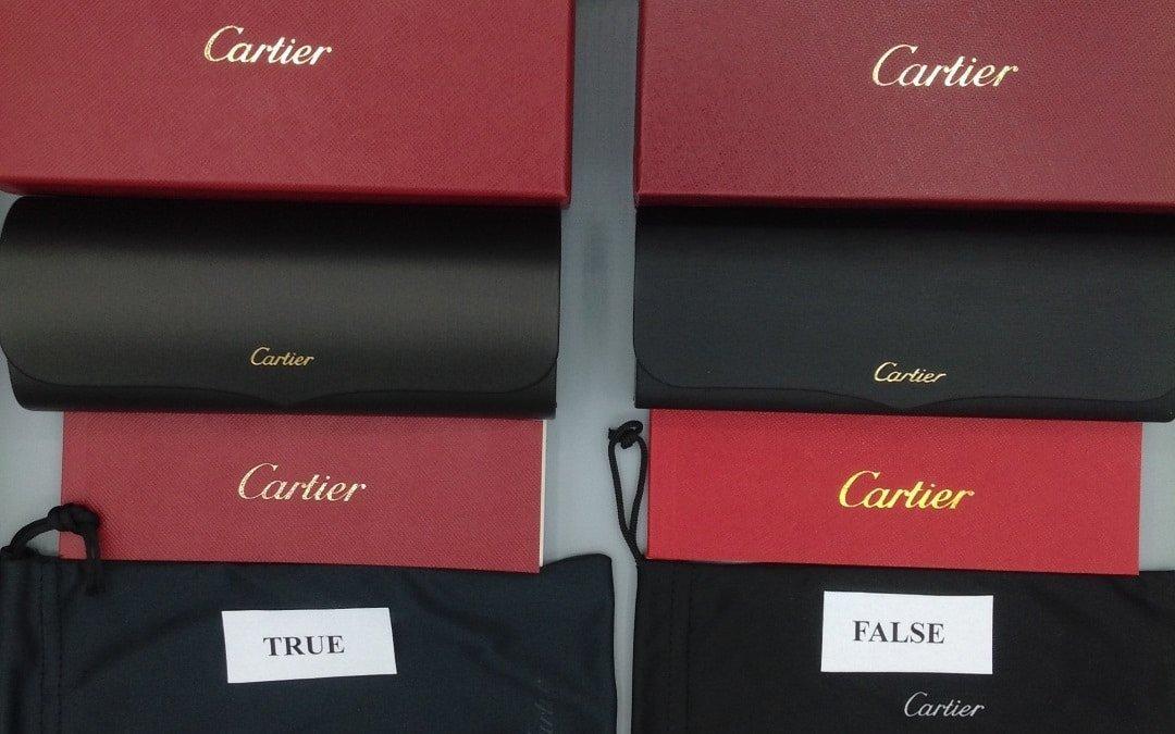 Originalità degli occhiali – il caso Cartier