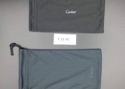 Packaging Cartier vs falso 1