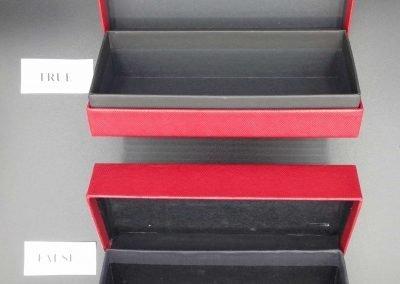 Packaging Cartier vs falso 10