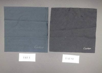 Packaging Cartier vs falso 2